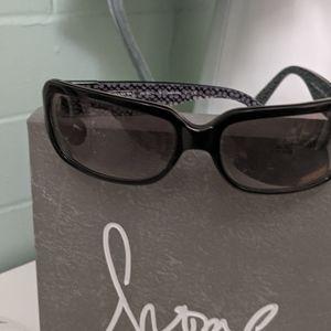 Coach black sunglasses w/ orig packaging